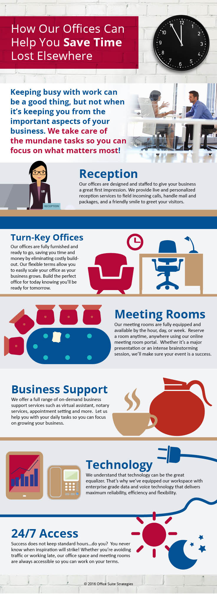 Saving Time For Your Business With Our Lakeside Office Services